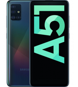 SAMSUNG Galaxy A51 Nero 128 GB 4G/LTE Dual Sim Display 6.5 Full HD+ Slot Micro SD Quadrupla Fotocamera Android - 1