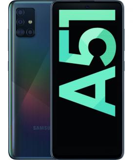SAMSUNG Galaxy A51 Nero 128 GB 4G/LTE Dual Sim Display 6.5 Full HD+ Slot Micro SD Quadrupla Fotocamera Android - 1