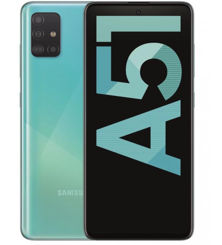 SAMSUNG Galaxy A51 Blu 128 GB 4G/LTE Dual Sim Display 6.5 Full HD+ Slot Micro SD Quadrupla Fotocamera Android - 1