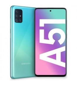 SAMSUNG Galaxy A51 Blu 128 GB 4G / LTE Dual Sim Display 6.5 Full HD+ Slot Micro SD Fotocamera 48 Mpx Android Operatore - 1