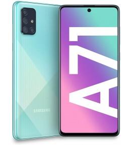 SAMSUNG Galaxy A71 Prism Crush Blu 128 GB 4G / LTE Dual Sim Display 6.7 Full HD+ Slot Micro SD Quadrupla Fotocamera Android - 1