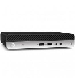 HP Mini Pc ProDesk 400 G5 Intel Core i7-9700T Octa Core 2 GHz Ram 16GB SSD 512GB 3xUSB 3.0 1xUSB 3.1 Windows 10 Pro - 1