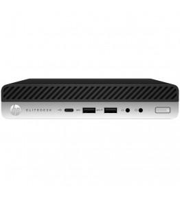 HP Mini Pc EliteDesk 800 G4 Intel Core i5-9500T Hexa Core 2.2 GHz Ram 8 GB SSD 256 GB 4xUSB 3.1 3xUSB 3.0 Windows 10 Pro - 1