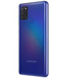 "SAMSUNG Galaxy A21s Blu 32 GB Dual Sim Display 6.5"" HD+ Slot Micro SD Fotocamera 48 Mpx Android - 1"