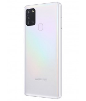 "SAMSUNG Galaxy A21s Bianco 32 GB Dual Sim Display 6.5"" HD+ Slot Micro SD Fotocamera 48 Mpx Android - 1"