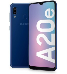 SAMSUNG Galaxy A20e Blu 32 GB 4G / LTE Dual Sim Display 5.84 HD Slot Micro SD Fotocamera 13 Mpx Android Operatore - 1
