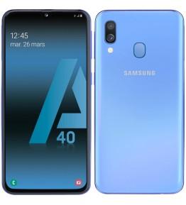 SAMSUNG Galaxy A40 Blu 64 GB 4G / LTE Dual Sim Display 5.9 Full HD+ Slot Micro SD Fotocamera 16 Mpx Android Operatore - 1