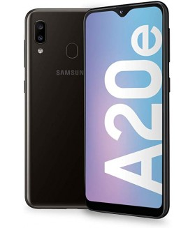 SAMSUNG Galaxy A20e Nero 32 GB 4G / LTE Dual Sim Display 5.84 HD+ Slot Micro SD Fotocamera 13 Mpx Android - 1