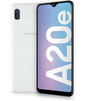 SAMSUNG Galaxy A20e Bianco 32 GB 4G / LTE Dual Sim Display 5.8 HD Slot Micro SD Fotocamera 13 Mpx Android - 1