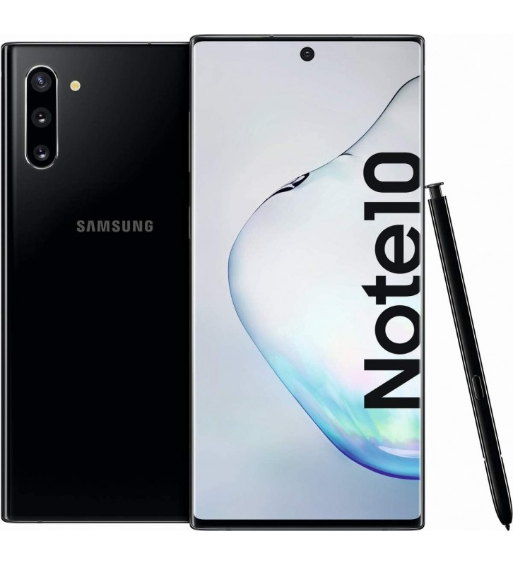 SAMSUNG Galaxy Note10 Aura Black 256GB Display 6.3 FullHD+ Tripla Fotocamera S-Pen Android Operatore - 2