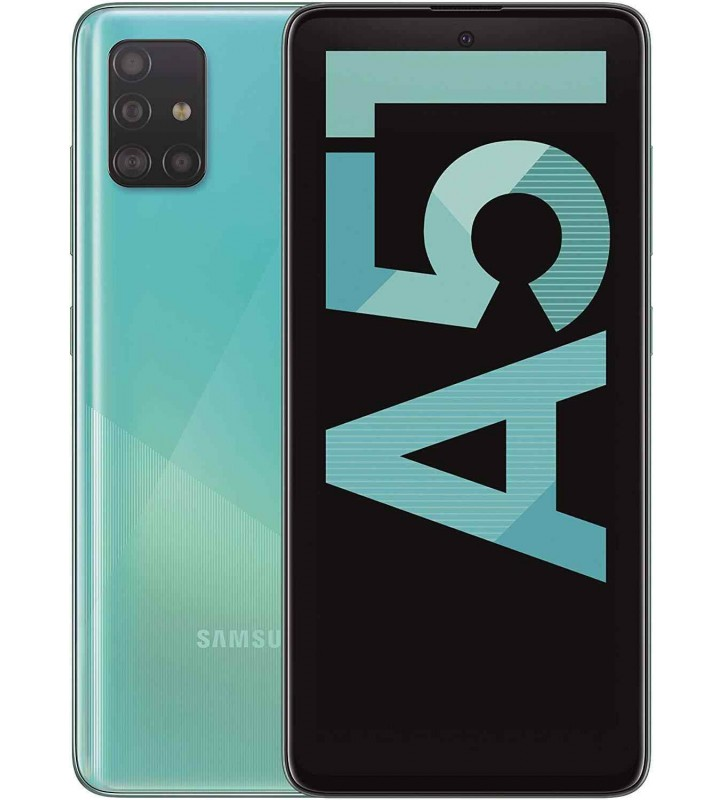 SAMSUNG Galaxy A51 Blu 128 GB 4G / LTE Dual Sim Display 6.5 Full HD+ Slot Micro SD Quadrupla Fotocamera Android - 1