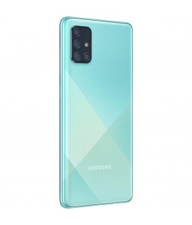SAMSUNG Galaxy A71 Prism Crush Blu 128 GB 4G / LTE Dual Sim Display 6.7 Full HD+ Slot Micro SD Quadrupla Fotocamera Android - 1