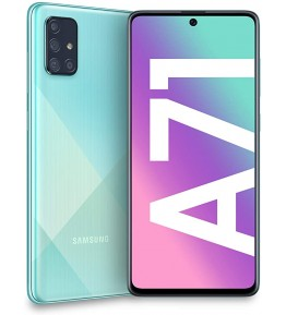 SAMSUNG Galaxy A71 Prism Crush Blu 128 GB 4G / LTE Dual Sim Display 6.7 Full HD+ Slot Micro SD Quadrupla Fotocamera Android - 3