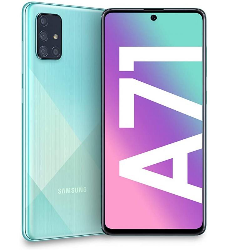 SAMSUNG Galaxy A71 Prism Crush Blu 128 GB 4G / LTE Dual Sim Display 6.7 Full HD+ Slot Micro SD Quadrupla Fotocamera Android - 3