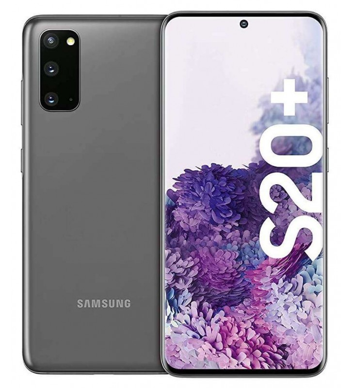 "SAMSUNG Galaxy S20+ Cosmic Gray 128 GB Display 6.7"" QHD+ Slot Micro SD Quadrupla Fotocamera Android - 2"