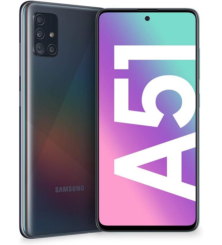 "SAMSUNG Galaxy A51 Nero 128 GB Dual Sim Display 6.5"" Full HD+ Slot Micro SD Fotocamera 48 Mpx Android - 1"