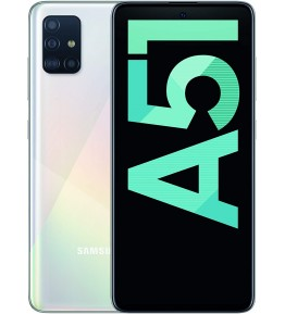 SAMSUNG Galaxy A51 Bianco 128 GB 4G / LTE Dual Sim Display 6.5 Full HD+ Slot Micro SD Quadrupla Fotocamera Android - 1