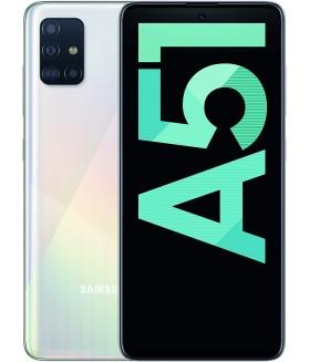 SAMSUNG Galaxy A51 Bianco 128 GB 4G / LTE Dual Sim Display 6.5 Full HD+ Slot Micro SD Quadrupla Fotocamera Android - 1