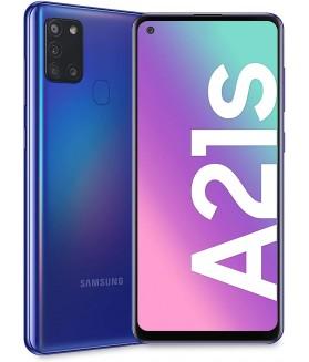 "SAMSUNG Galaxy A21s Blu 32 GB Dual Sim Display 6.5"" HD+ Slot Micro SD Fotocamera 48 Mpx Android - 3"