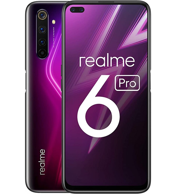 "REALME 6 Pro Rosso 128 GB Dual Sim Display 6.6"" Full HD+ Slot Micro SD Fotocamera 64 Mpx Android - 2"