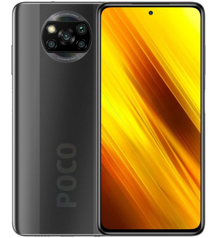 "XIAOMI Poco X3 NFC Grigio 6GB/64GB Dual Sim Display 6.67"" Full HD+ Slot Micro SD Fotocamera 64 Mpx Android - 1"