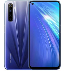 "REALME 6 Blu 64 GB Dual Sim Display 6.5"" Full HD+ Slot Micro SD Fotocamera 64 Mpx Android - 1"