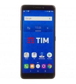 "TIM XL (2018) Nero 16 GB 4G / LTE Display 6"" Full HD+ Slot Micro SD Fotocamera 16 Mpx Android Operatore - 1"